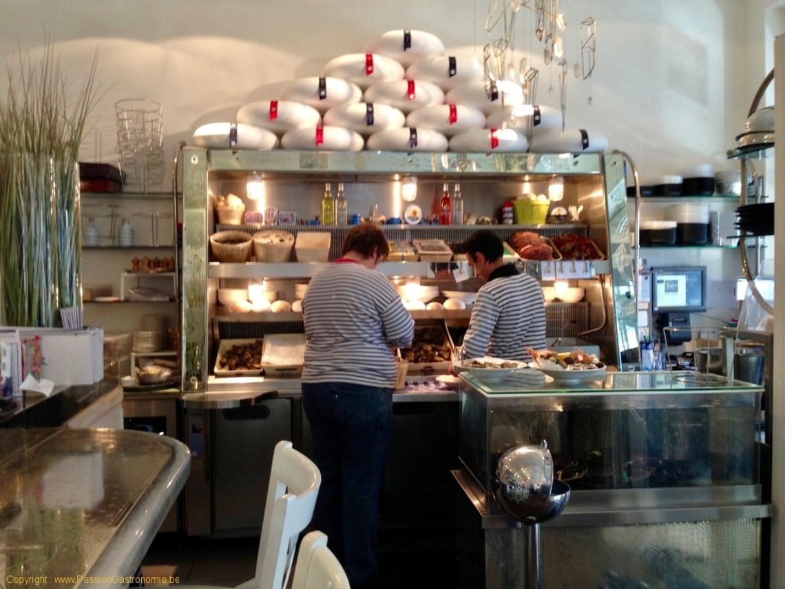 Brasserie Toucan Sur Mer - Le banc d'écailler