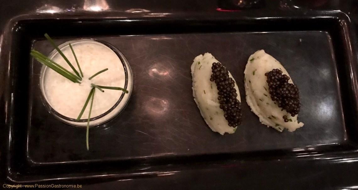 Restaurant Tribeca - Purée de Bintjes à la moscovite