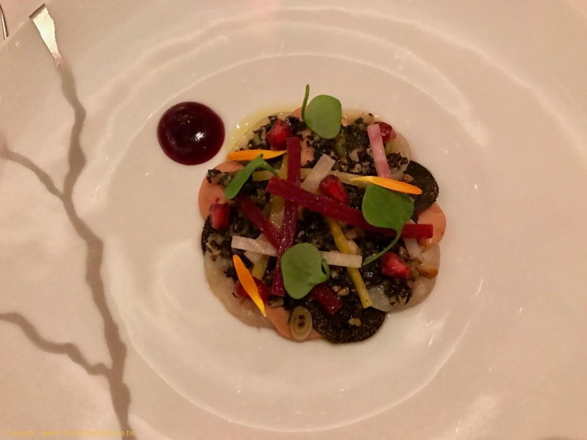 Restaurant Villa Lorraine - Carpaccio de Saint-Jacques