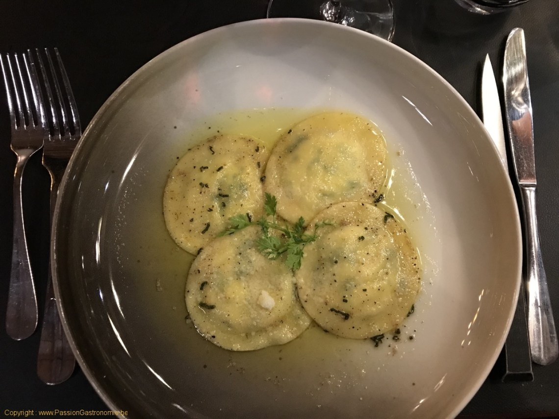 Restaurant La Table Du Boucher - Ravioles