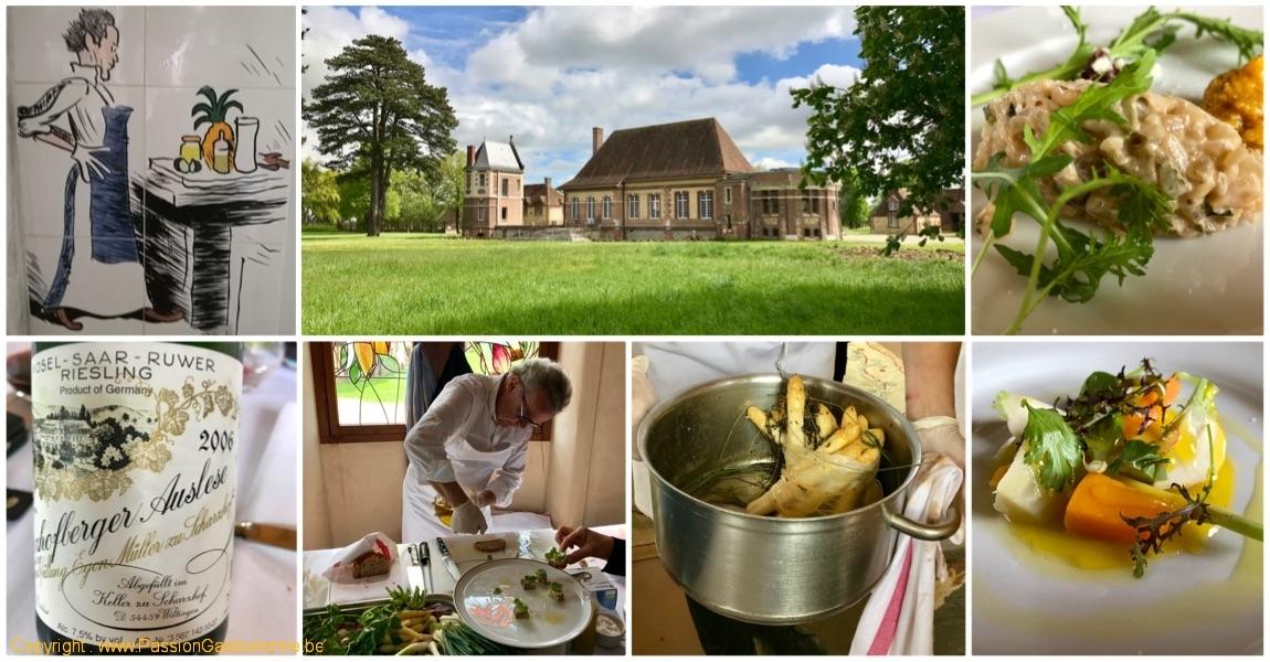 France – Buis-sur-Damville – Les Jardins d'Alain Passard (à Bois-Giroult) et ses légumes