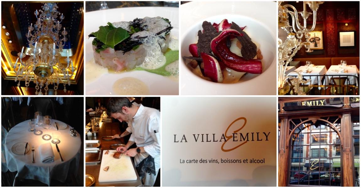 La Villa Emily, restaurant à Bruxelles