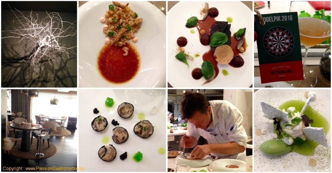 Restaurant BonBon par Christophe Hardiquest à Bruxelles