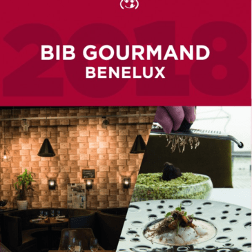 BIB gourmands Benelux Michelin 2018
