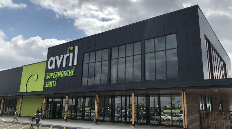 Avril nouvelle succursale épicerie santé biologique fruits et légumes