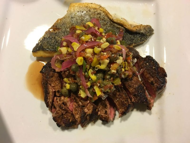 Cascade surf and turf