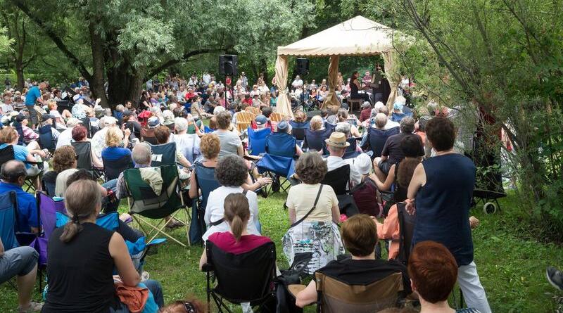 Les arts s'invitent au Jardin Botanique
