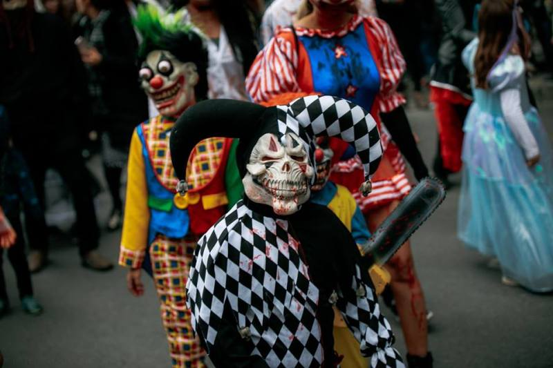 Halloween à Montréal - zombies
