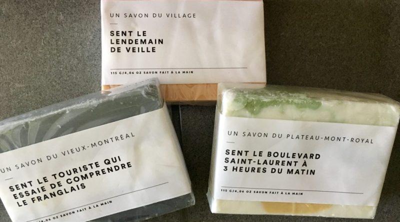 Saved by the box savons Fabriqués à Montréal