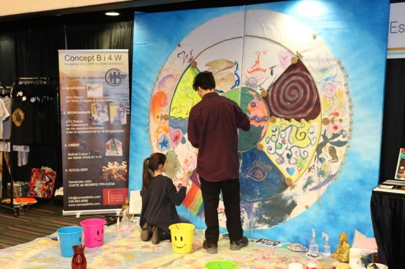 Murale Expo Yoga 2019