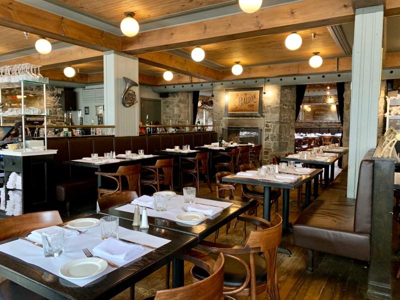 Un endroit digne du Vieux-Montréal restaurant photo Passion MTL