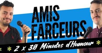 Amis Farceurs : un spectacle doublement drôle