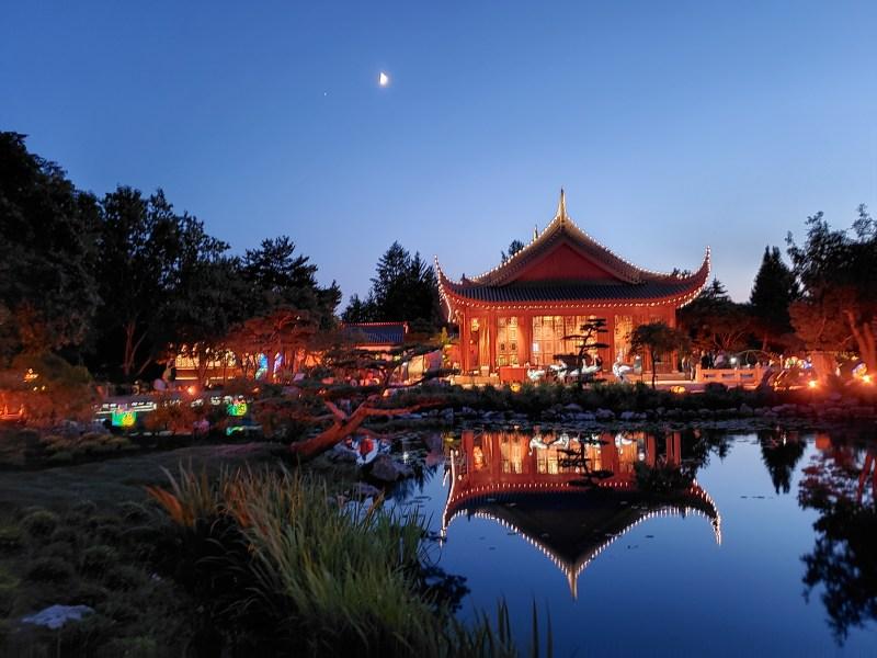Jardins de lumière lac Chine