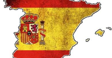 photo de l'Espagne carte drapeau