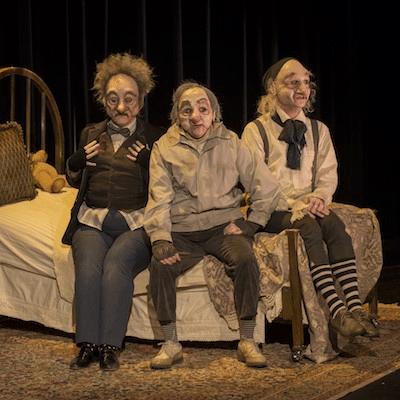 trois petits vieux - olivier bochenek