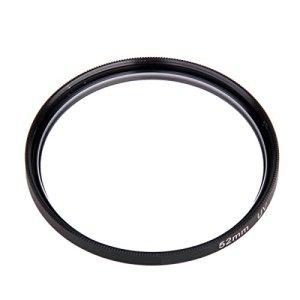 52mm UV Objectif Lens Protection Pour Camera Appareil Photo Caméscope DV Noir