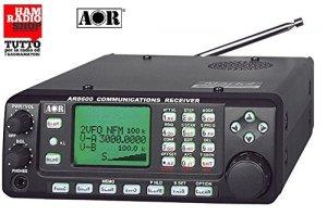 ar-8600Mark 2Récepteur à large couverture de 100kHz à 3000MHz avec port RS-232