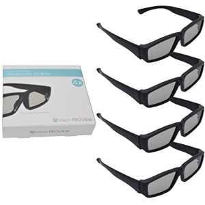 AVision Proview lunettes 3D ultra-léger passif Ensemble de 4