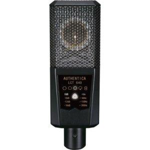 Lewitt LCT640 Microphone studio statique Multi-directivité avec Large diaphragme Noir