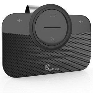 VeoPulse B-PRO 2 Kit Main Libre voiture Bluetooth avec allumage et connexion automatique pour téléphoner en sécurité et légalité au volant