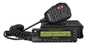 Car Radio Wouxun KG-UV950P Quad Band Transceiver Cross-band Dual Display Screen 999 Memory Channel Scrambler Repeater UV950P Black