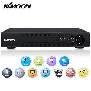 KKMOON 16 Canaux 720P CCTV H.264 HDMI AHD DVR Enregistreur Vidéo Numérique Digital Video Recorder Système de Vidéosurveillance P2P Détection de Mouvement Vue à Distance par Ordinateur ou Smartphone