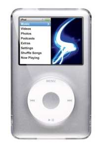 iPod Classic 120Go Capsule classique couleur: Ultra transparent