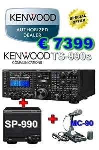 Kenwood ts-990s complet de sp-990et mc-90