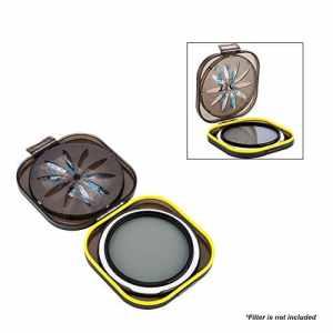 PROfoto.Trend/JJC Anti-humidité Unterwasser-Kamera-Objektiv-Filter Case für Filter avec 37mm, 40.5mm, 43mm, 46mm, 49mm, 52mm et 55mm