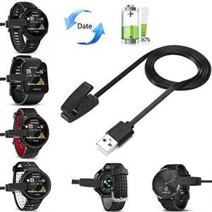 Chargeur Garmin Forerunner 235, Fun Sponsor Cable de Chargement pour Forerunner 230 235 630 Chargeur Garmin pour de rechange Chargement USB Chargeur pour Garmin
