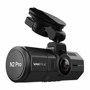 Vantrue – Caméra de tableau de bord T2 avec Vision de nuit haute performance Vantrue N2 Pro Dual 1080P Dash Cam