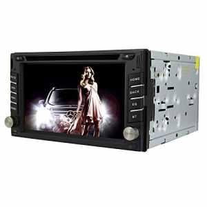 Autoradio Universel 6.2 Pouces Windows CE 6.0 Écran TFT in-Dash Lecteur DVD de Voiture avec Bluetooth/GPS / RDS/ATV