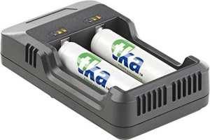 Chargeur USB pour 2 accumulateurs NiMH / NiCd / Li-ion