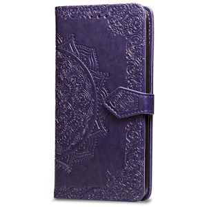 JAWSEU Coque Etui Xiaomi Redmi Note 5/Note 5 Pro Portefeuille PU Étui Folio en Cuir à Rabat Magnétique Luxe Élégant Beautiful Fleur de Dentelle Motif Ultra Mince Stand Leather PU Case Flip Wallet Case