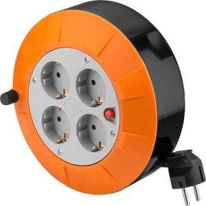 cablepelado–Rehausse électrique 4prises schuko 5mètres