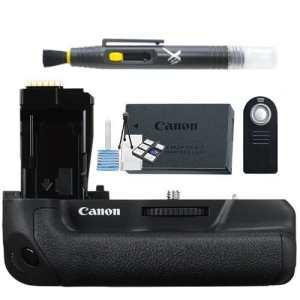 Canon batterie grip pour T6i et T6S, 750d et 760d Bg-e18Compatible avec LP-E17batterie Pack + batterie origine constructeur + Télécommande sans fil + accessoires