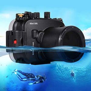 Easy Go Shopping Boîtier étanche pour Appareil Photo étanche Sony A7 / A7S / A7R 40m Compatible avec la plongée sous-Marine Accessoires