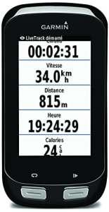 Garmin – Edge 1000 – Compteur GPS de vélo connecté – Ecran tactile couleur 3»