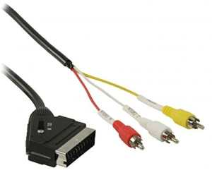 iberiapc–Câble péritel à 3x RCA 3m.