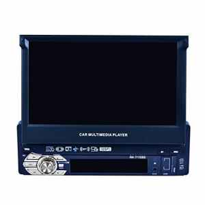 Prettygood717,8cm HD Rabattable à Navigation GPS Autoradio stéréo Lecteur MP3Carte Europe