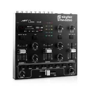Skytec stm-2250Mixeur 4canaux USB SD MP3