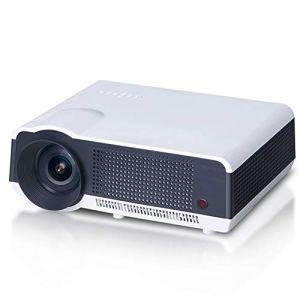 ZZG Projecteur Intelligent à la Maison HD de Bureau a Mené la Projection sans Fil De WiFi,Nosystem