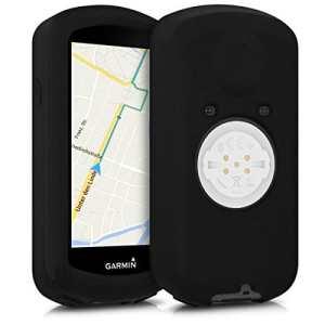 kwmobile Housse GPS vélo – Accessoire pour Garmin Edge 1030 – Protection boitier navigateur – Étui en silicone noir