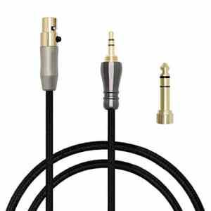 micity 2Câble de rechange remplacement Audio mise à jour via câble pour aKG q701K702K271s K271K141K171K181MK2MKII K240S K240Pioneer Hdj-2000Casque 2m