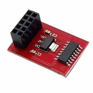 tyughjytu Top TF Carte SD SD Imprimante 3D Ramps Module pour Montage 1.4 Ramps