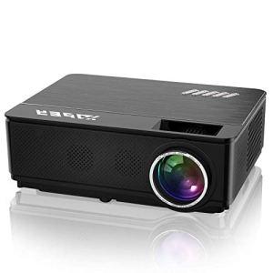 YABER Vidéoprojecteur 4200 Lumens Soutien 1080P Full HD Home Cinéma Projecteur LED avec Deux Haut-parleurs Stéréo (de Qualité HiFi – Haute-fidélité) et 3 Ventilateurs Intégrées, 200″ Affichage