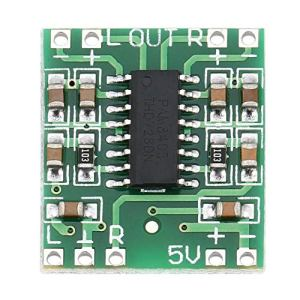 2 canaux 3W Digital Power PAM8403 Module Audio de Classe D Carte d'amplificateur USB CC Mini Carte d'amplificateur numérique de Classe D (5V) LCD (Couleur: Vert)