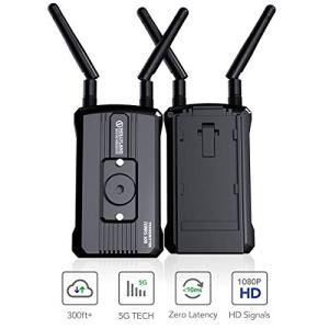 HOLLYLAND Mars 300 Transmetteur Vidéo sans Fil, Double HDMI HD 1080P 60Hz 300~500 Pieds émetteur et Récepteur Transmission Non-compressé pour Caméra Appareil Photo Moniteur