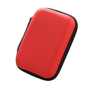LAAT Cas de Casque Sac de Rangement Multifonctionnel Léger Éblouissant Changement Paquet de Casque Bluetooth Voyager Multi-Usage