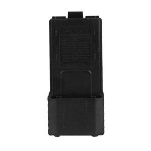 Boîte de Batterie en Plastique Cas de Stockage de Batterie Portable pour Baofeng F8 F9 UV-5R Radio bidirectionnelle Talkie-walkie Batterie ToGames-FR